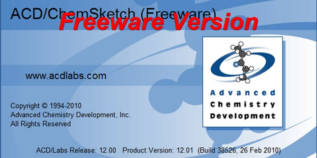 ACD / ChemSketch Freeware