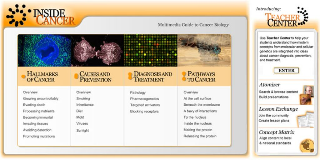 INSIDE CANCER - A Multimedia Guide to Cancer
